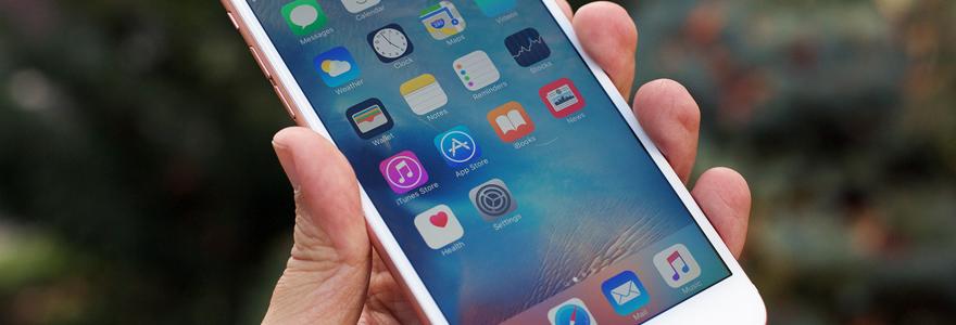 cellulaires sur iPhone