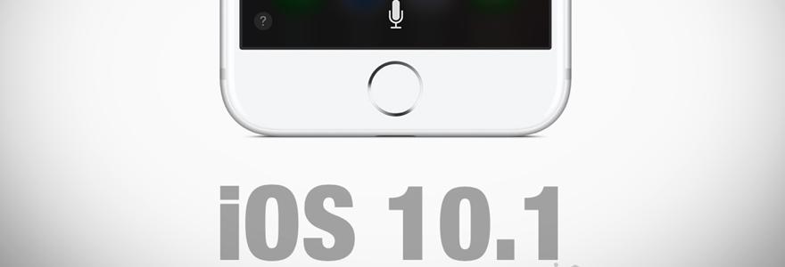 télécharger iOS 10.1 bêta 4
