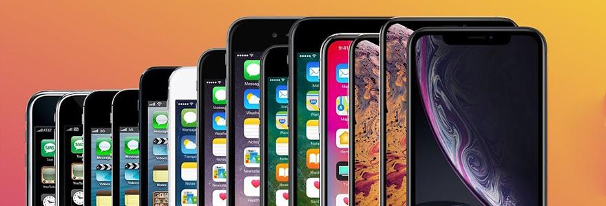 generations d Iphone