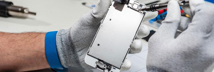 Réparation de smartphone apple