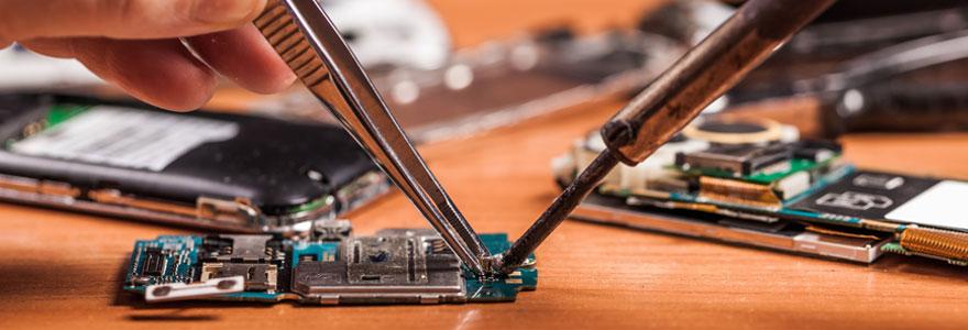 réparer son smartphone